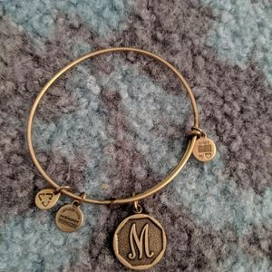 "Alex and Ani ""M"" Bracelet"